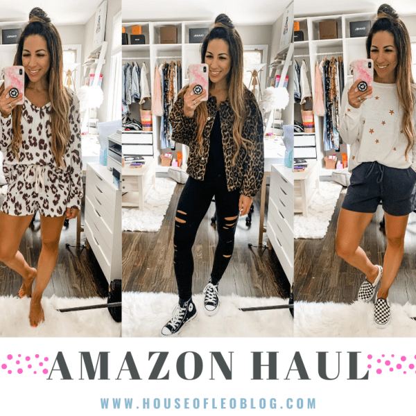 August Amazon Haul by top US fashion blog, House of Leo Blog: August Amazon haul