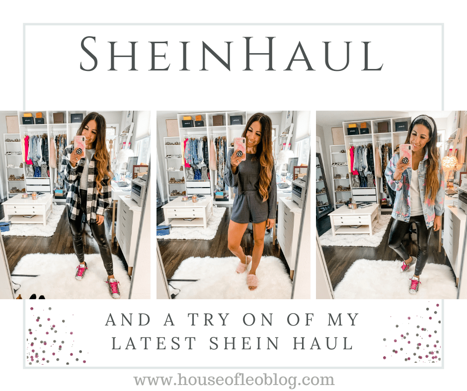 September SheIn Haul by top US fashion blogger House of Leo Blog: September SheIn haul
