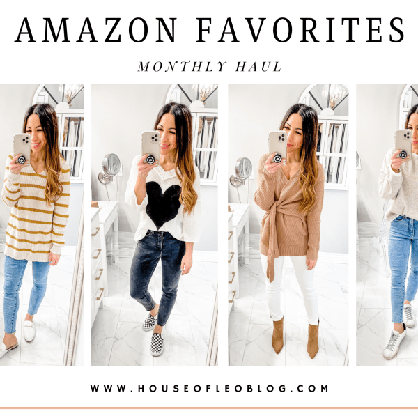 February Amazon Favorites by top US fashion blog, House of Leo Blog: February Amazon favorites
