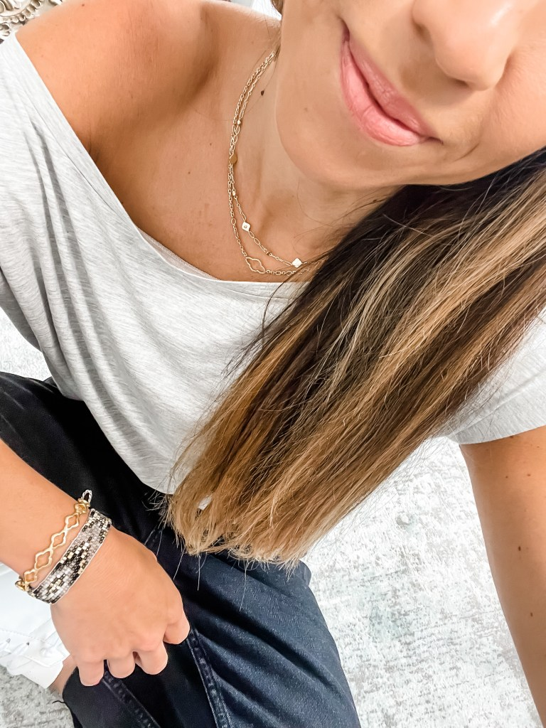 August Shopping Cart Reveal by top US fashion blog, House of Leo Blog: August shopping cart reveal, image of kendra scott necklace