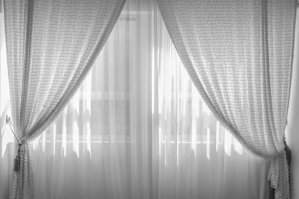 Curtains Made From Old Bed Sheets