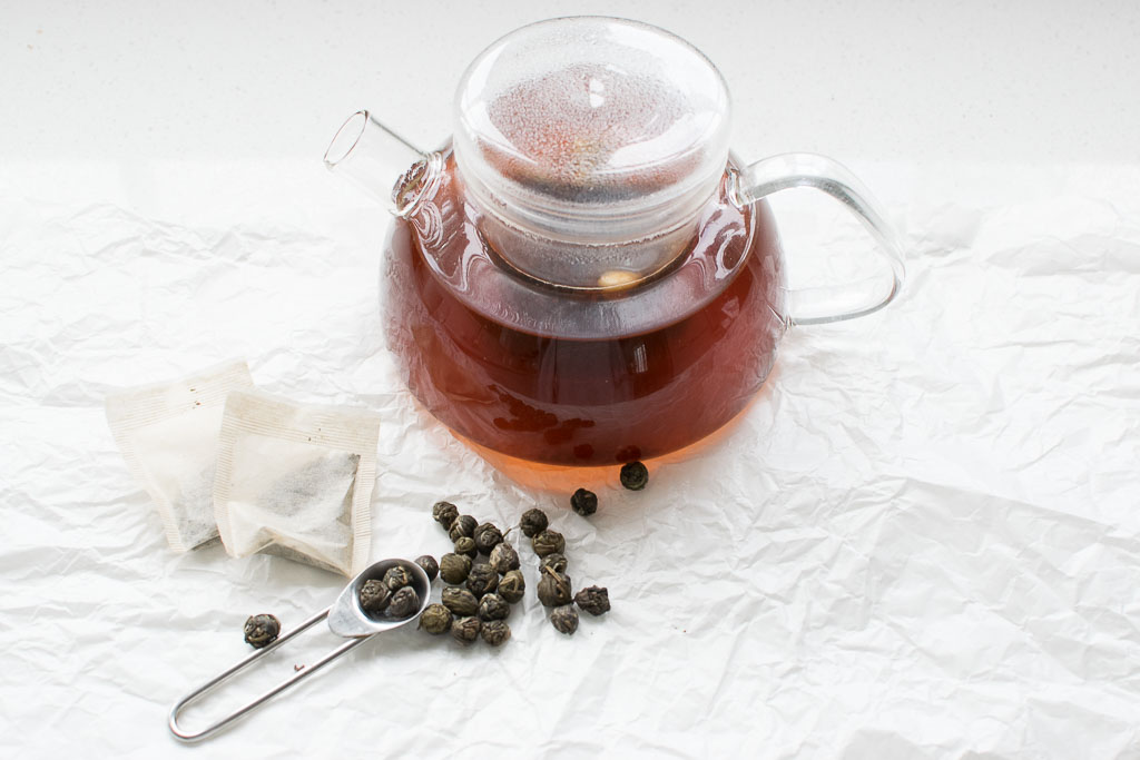 picture of a pot of herbal tea
