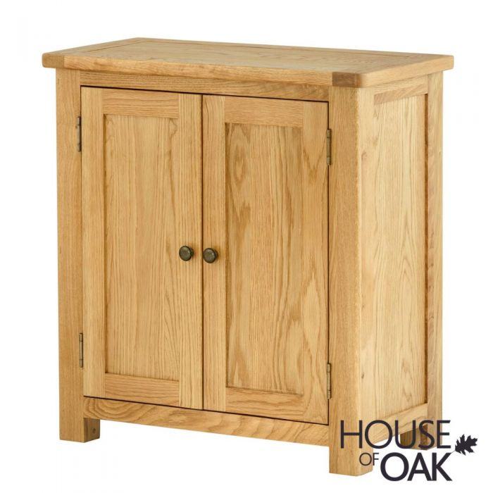 Portman 2 Door Cabinet In Oak House Of Oak