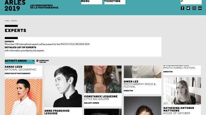 Portfolio Reviews At Rencontres D'Arles