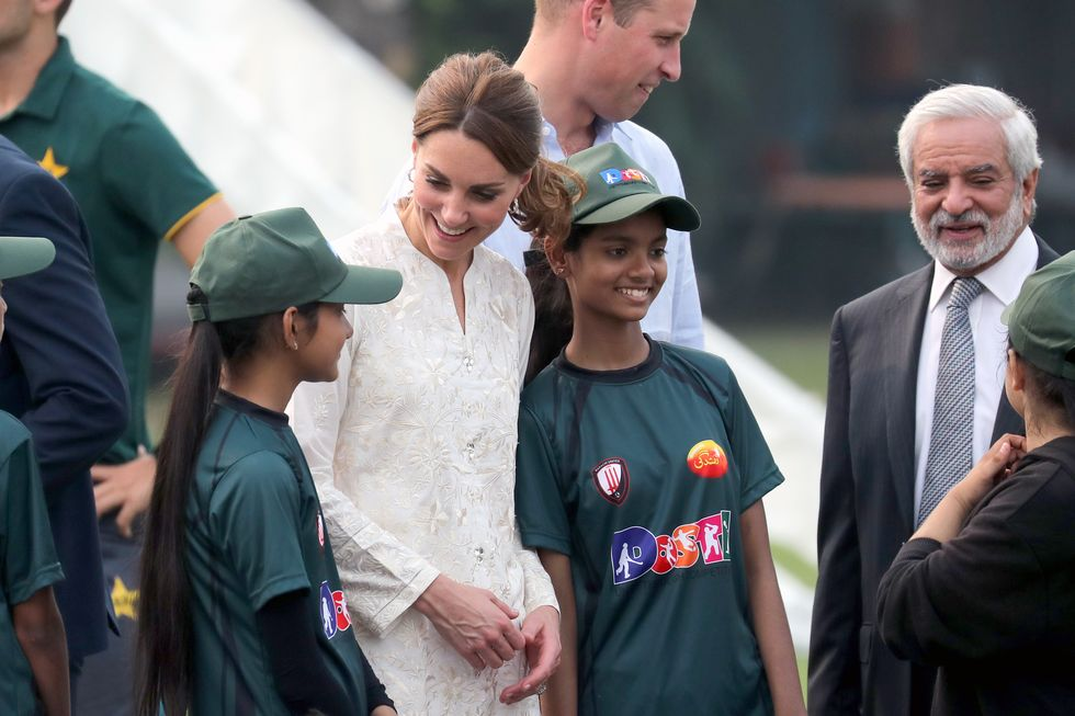 cricket, fun, royal visit, princes kate