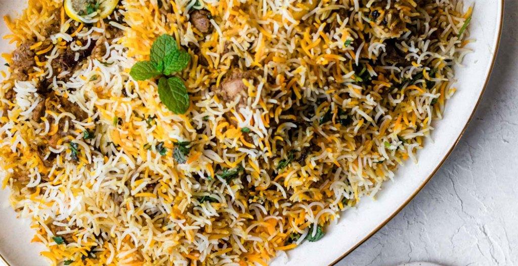 Dum biryani, hyderabadi biryani, sindhi cuisine