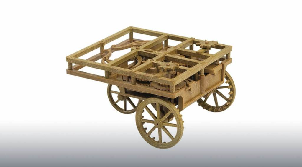 car design, design model, famous engineer, Leonardo da Vinci