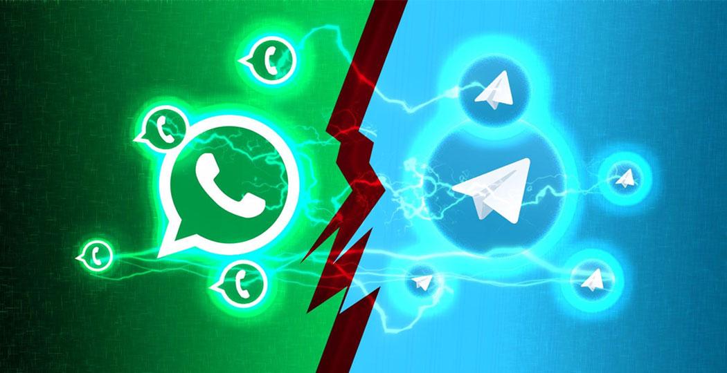 telegram, telegram pakistan, telegram versus whatsapp