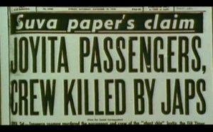 Newspaper headlines supposed japs did it