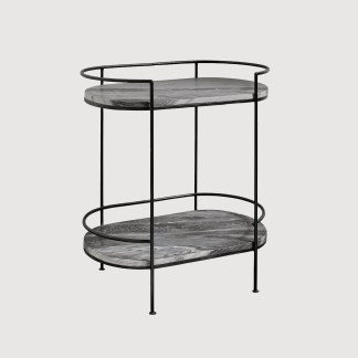 Marble Iron Drinks Stand Nordal