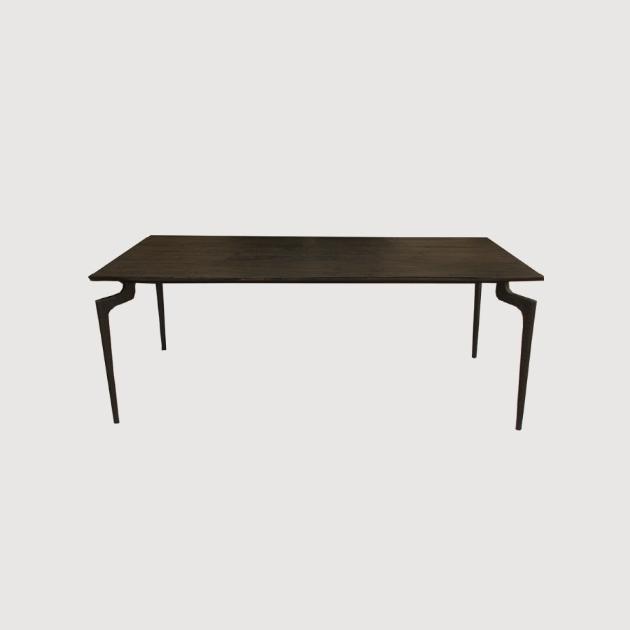 Rex Recycled Wood Dining Table – two sizes gallery image