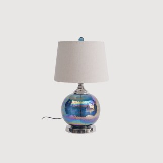 iridescent table lamp
