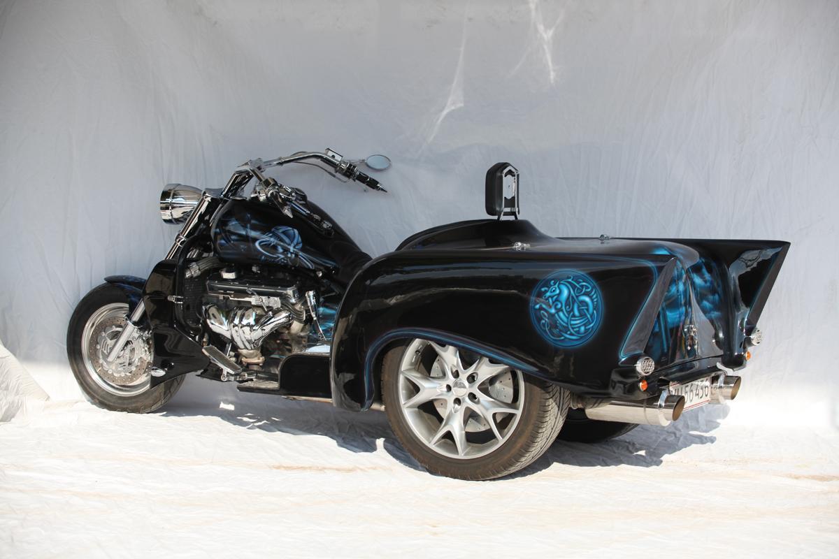 Boss Hoss Bhc 9 Ls 3 57 Chevy Trike House Of Thunder