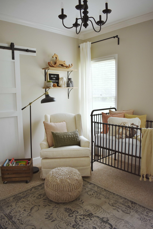 Bohemian Nursery For A Baby Girl House On Longwood Lane