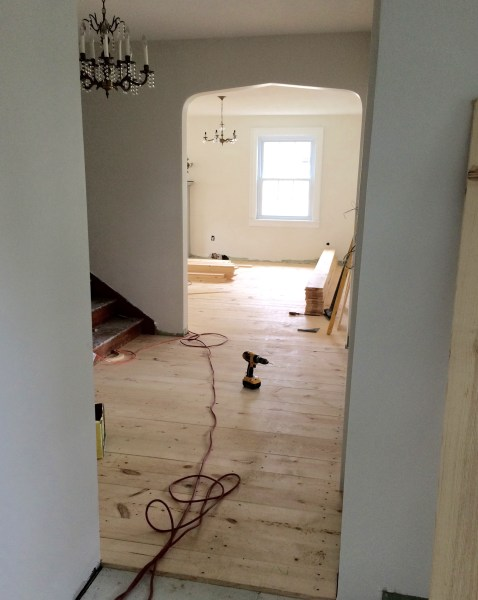 inexpensive wood floor pine