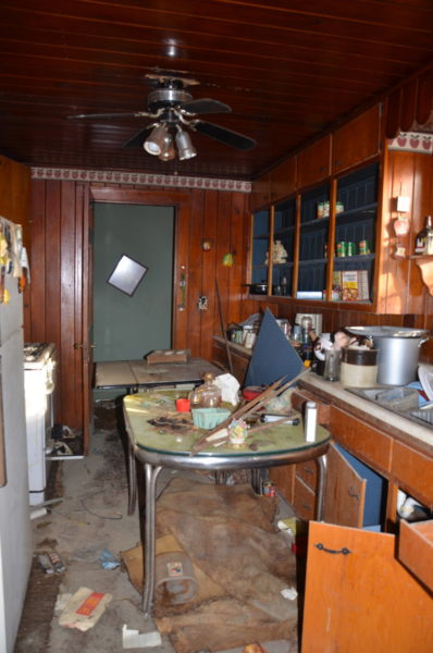 Hoarder house kitchen - House on Winchester