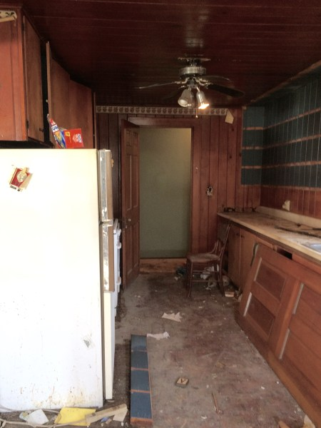 Kitchen Hoarder House - House on Wichester