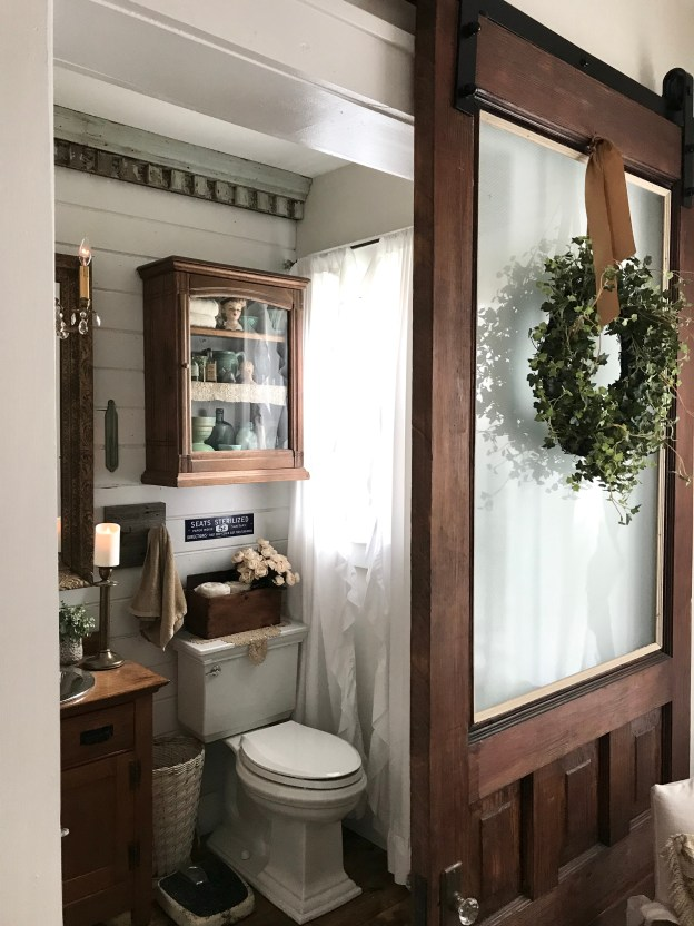 Half Bathroom reveal - House on Winchester