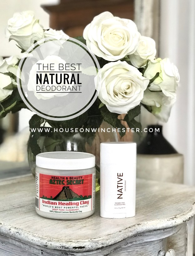 The Best Natural Deodorant - House on Winchester