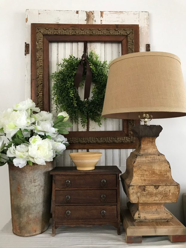 How to Style a Side Table - House on Winchester