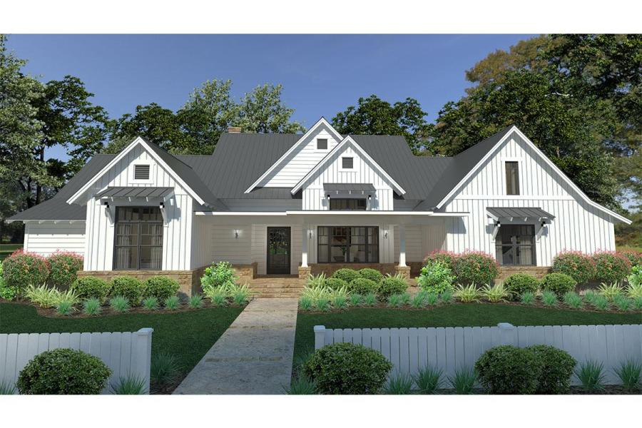 Modern Farmhouse Plan  2 393 Square Feet  3 Bedrooms  2 5 Bathrooms     Modern Farmhouse Plan  2 393 Square Feet  3 Bedrooms  2 5 Bathrooms    9401 00094