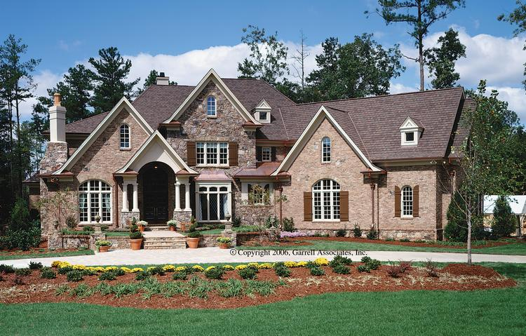 French Country Plan 4376 Square Feet 4 Bedrooms 45