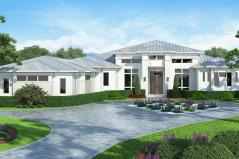 Contemporary Style Plans   Modern Home Designs PLAN207 00035