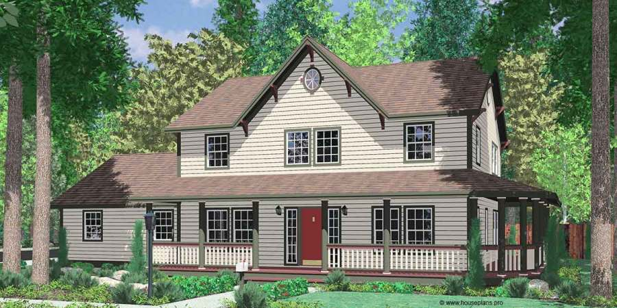 Country Farm House Plans  House Plans With Wrap Around Porch  999 Country Farm house plans  house plans with wrap around porch  house plans  with basement  house plans with side load garage  9999