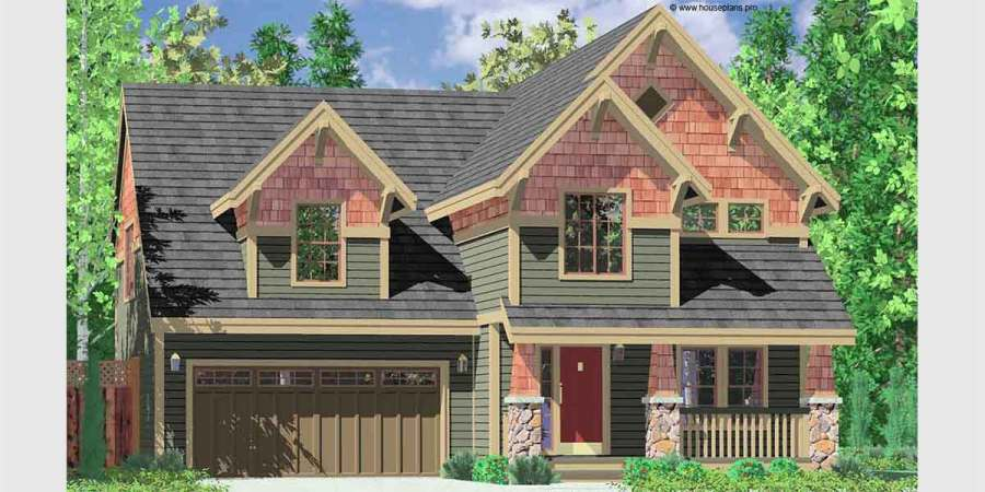 Craftsman House Plans  for Homes Built in Craftsman Style Designs 10104 Craftsman house plans  house plans with bonus room  40 x 40 house  plans