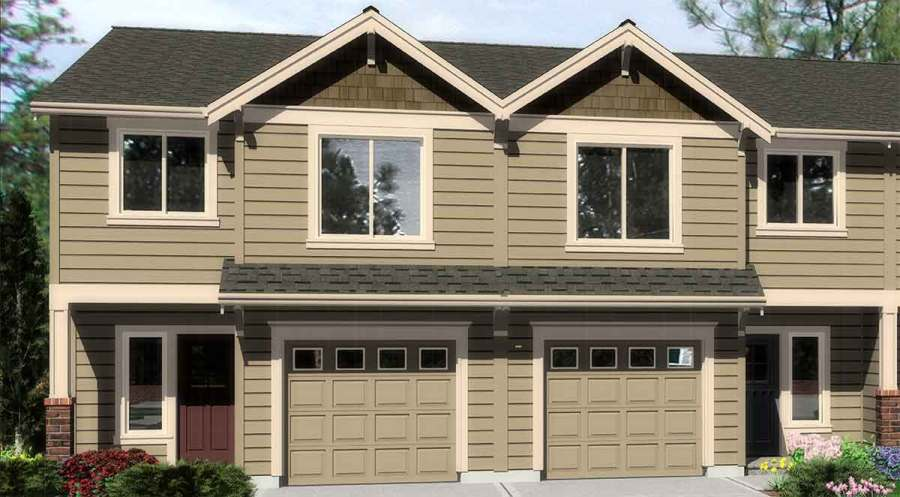 4 Bedroom Duplex House Plans  Town House Plans  D 508 D 536 Duplex house plans  townhouse plans  D 536