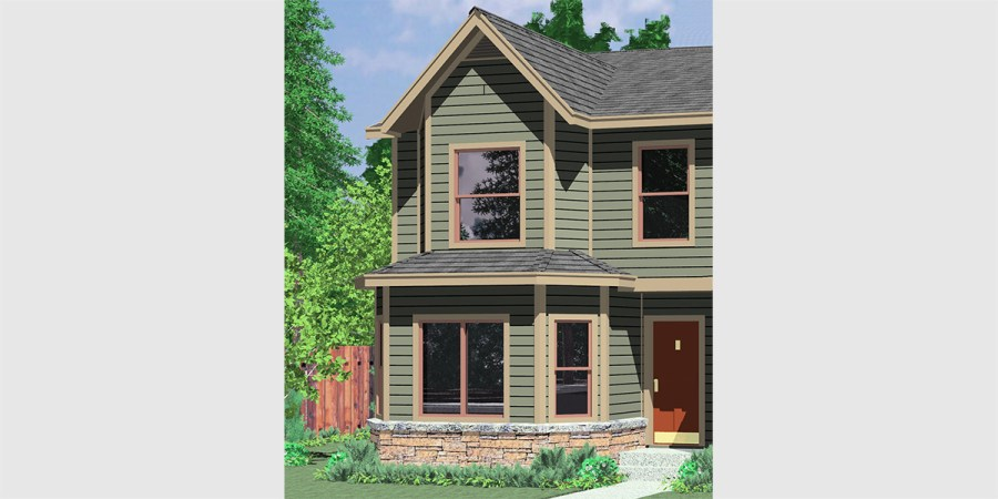 Duplex House Plans  Narrow Lot Duplex House Plans  D 550 Duplex house plans  narrow lot duplex house plans  master on the main  duplex plans  2 story duplex house plans  duplex house plans for Canada   D 550