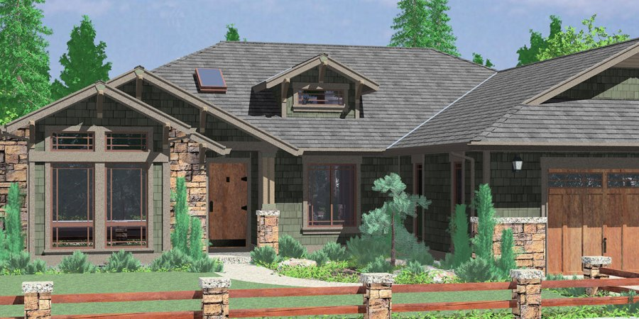 Ranch House Plans  American House Design  Ranch Style Home Plans 10163 One story house plans  ranch house plans  3 bedroom house plans  house