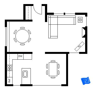 Architectural Wiring Symbols Architectural Furniture
