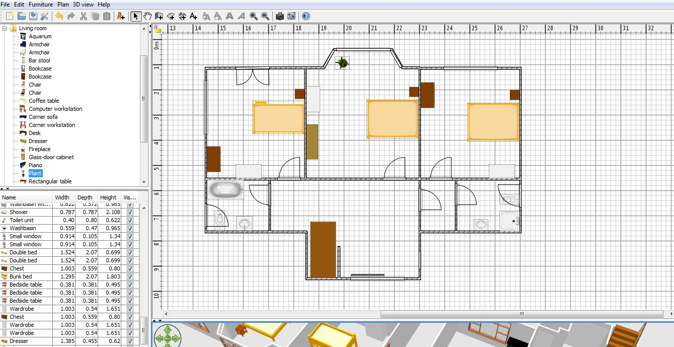 Default in the current version of sweet home 3d). Free Floor Plan Software Sweethome3d Review