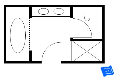 Download Small Master Bathroom Layout Pictures