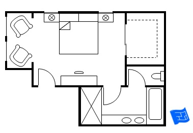 Select House Plans further 455285843564479480 as well Master Bedroom Layout Floor Plan furthermore Master Bathroom With 2 Toilets furthermore Bathroom Layout For 8x8. on simple master bathroom ideas