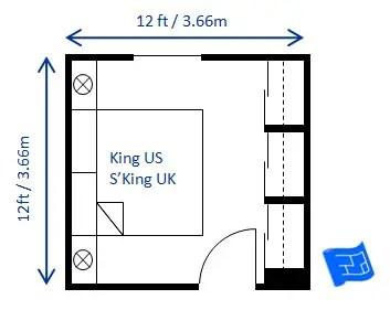 bedroom size