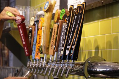 House Rock Kitchen beers on tap