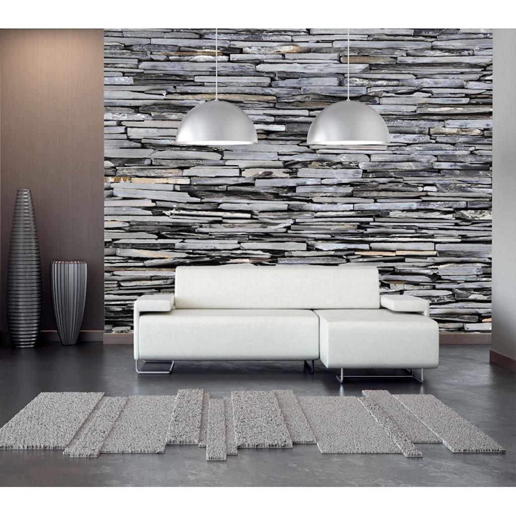 soggiorno con pietre a vista: Pietra Naturale Una Finitura Senza Tempo House Selection
