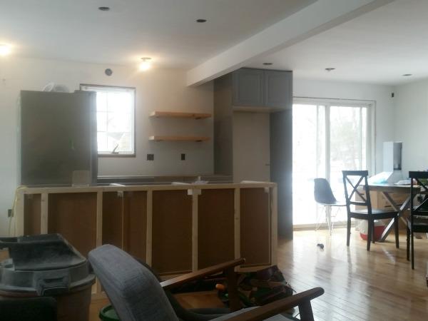 boston ikea kitchen progress 3