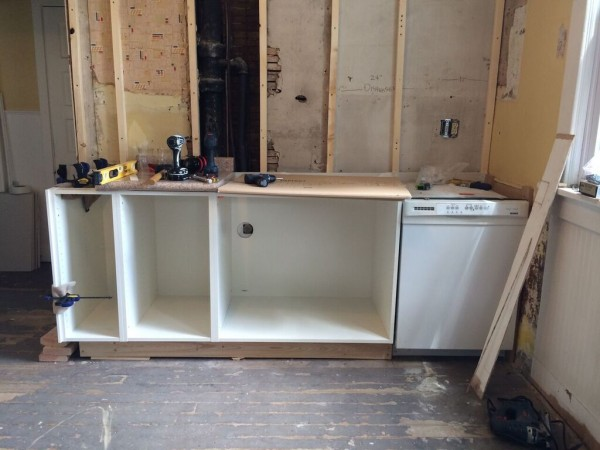 ikea nebraska kitchen progress