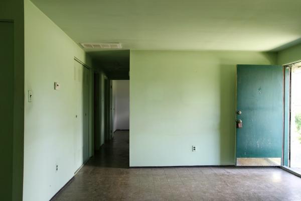 flip house hallway
