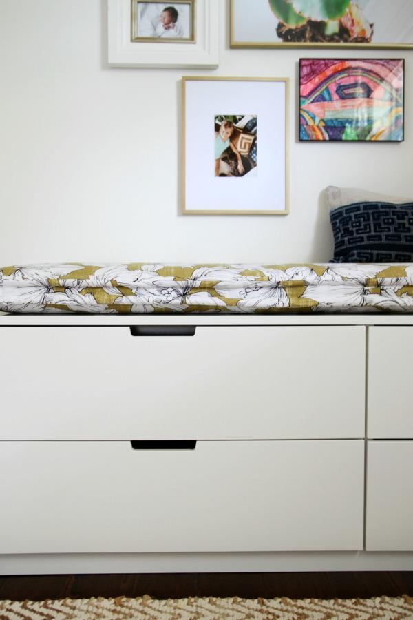 IKEA dresser bench 2