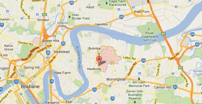 House Washing Balmoral QLD map
