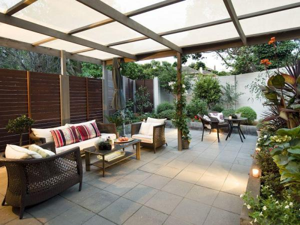 outdoor patio living room DIY Ideas for Spacious Outdoor rooms | House Washing