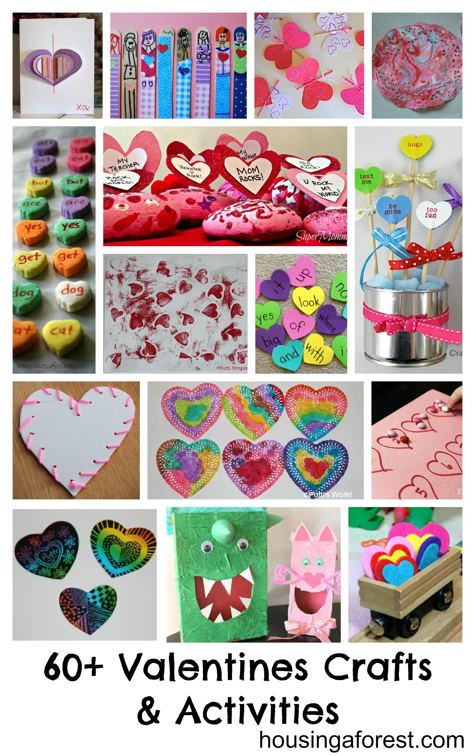 Valentine Crafts And Games