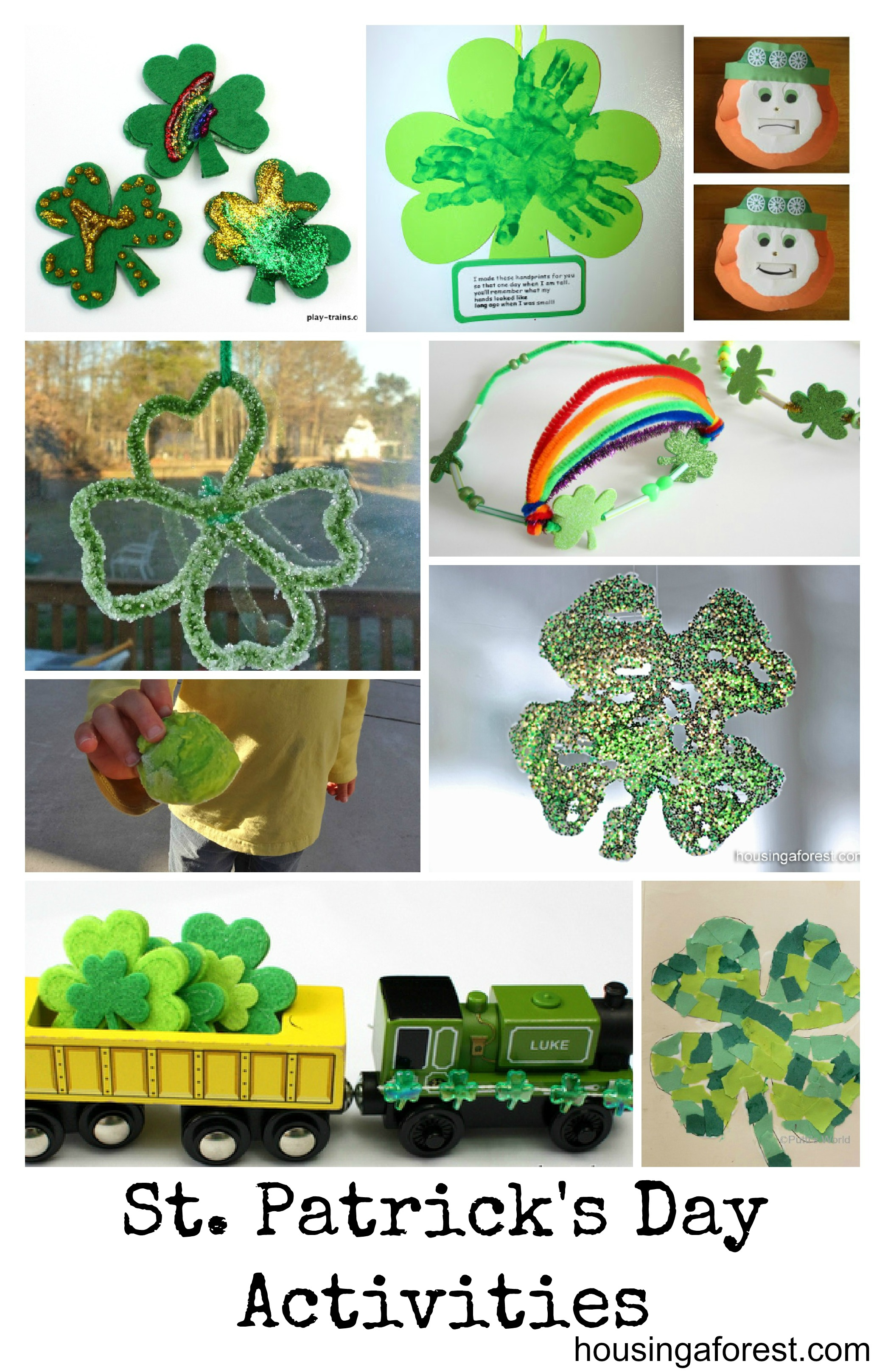 St Patrick S Day Activities From The Kids Co Op