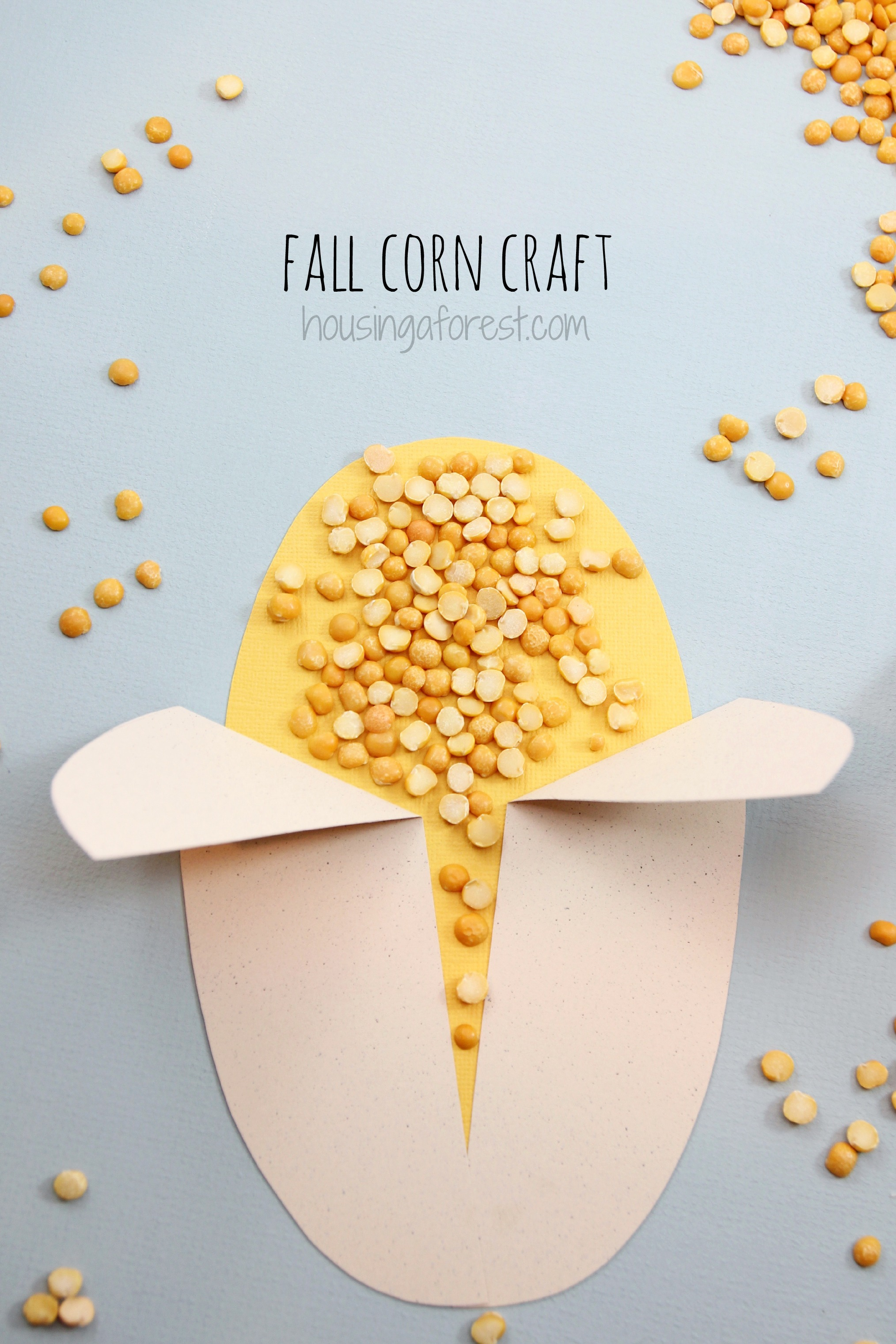 Easy Corn Craft