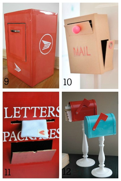 DIY Mailboxes For Kids Housing A Forest