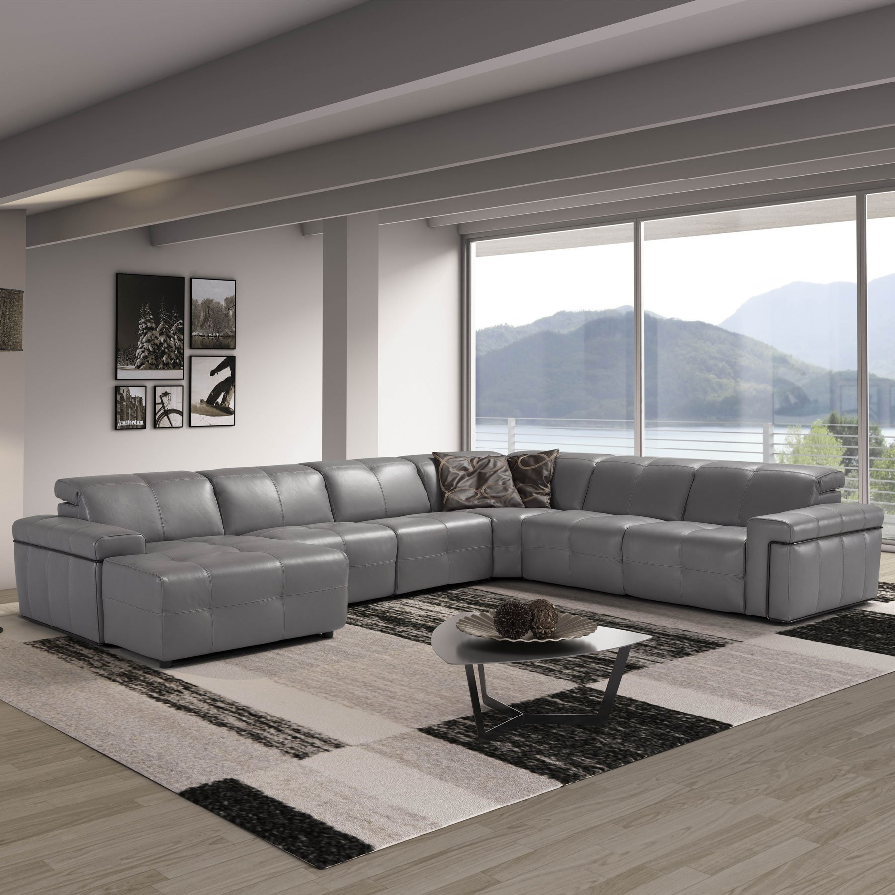 Parma Recliner Corner Group Sofa Collection